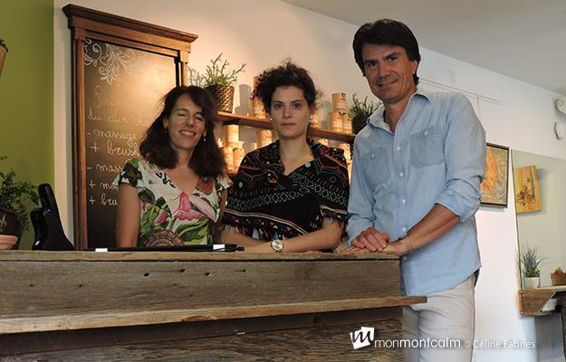 Brigitte Labrecque, Noémie et Vincent Bonhomme