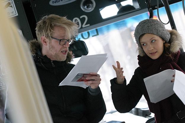 Maxime Robin et Jeanne G. Lavigne lors de l'édition 2013. Crédit photo : Vincent-Champoux