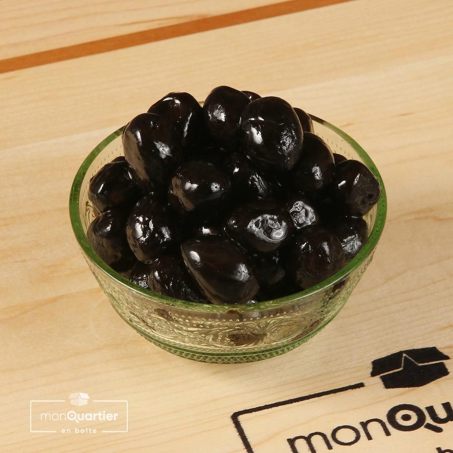 Olives noires grecques
