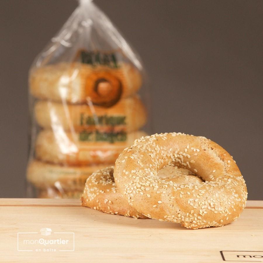 Bagels au blé bio