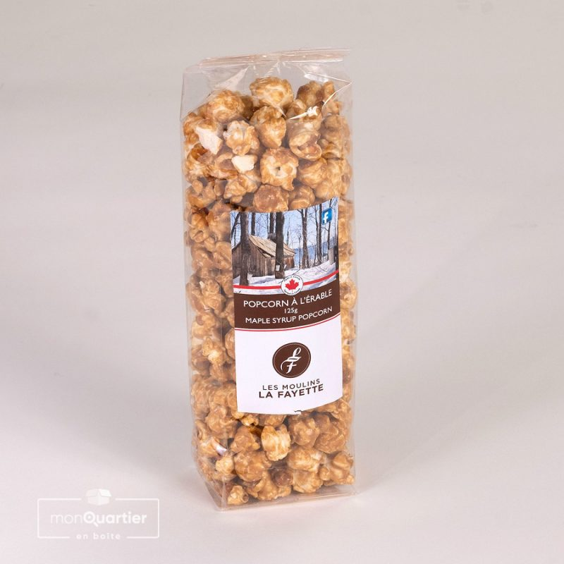 Pop corn à l'érable