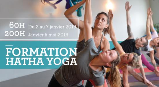 Formation Hatha yoga 60h ou 200h