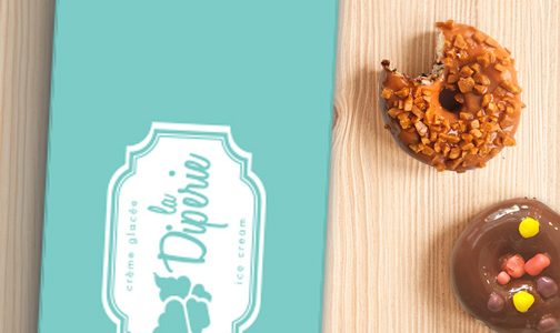 Boîte-cadeau de beignets chauds sur mesure | Diperie (La)