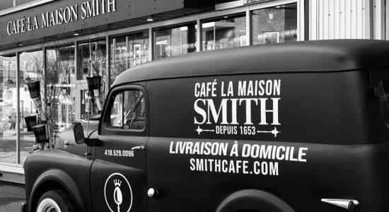 Livraison de café et de petits plats réconfortants   Café La Maison Smith