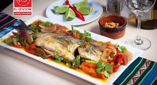 Cuisine et ambiance typiquement péruviennes   El Ceviche