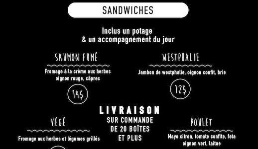 Boîte à lunch à emporter | Fin Gourmet
