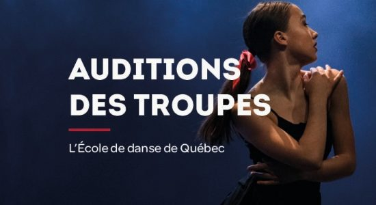Auditions des Troupes de L'EDQ