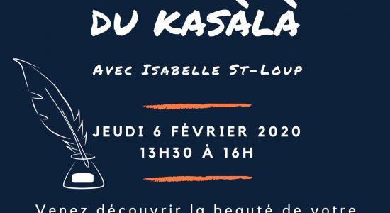 Café-rencontre: À la découverte du Kasàlà