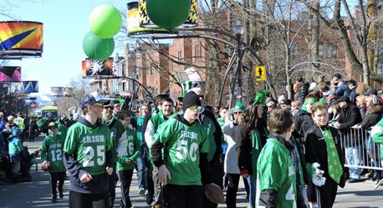 Immense succès pour le défilé de la Saint-Patrick - Céline Fabriès