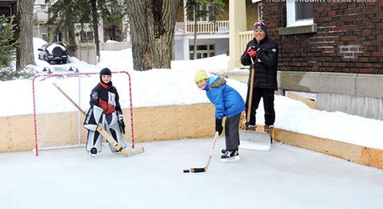Une patinoire privée pour le bonheur des enfants - Céline Fabriès