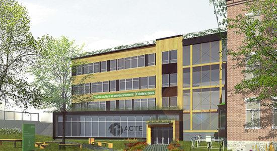 Des projets d'agrandissement au Centre Frédéric Back - Céline Fabriès