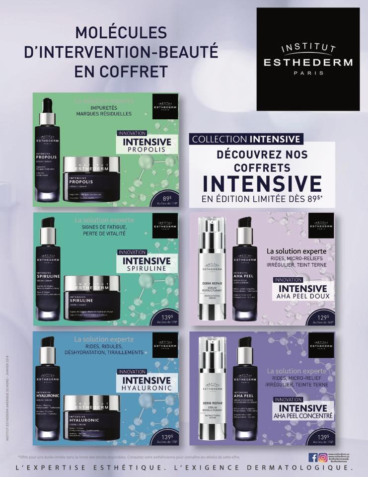 Produits Esthederm | Salon Michel Bilodeau Coiffure