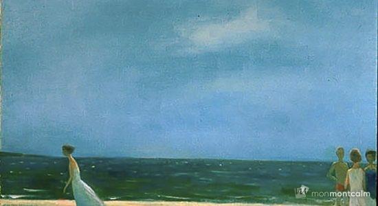 Vent de mer, Jean-Paul Lemieux, 1963