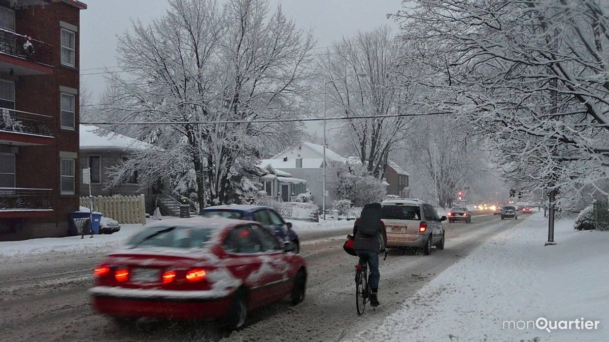 La Ville à l'écoute des cyclistes qui pédalent l'hiver | 20 décembre 2019 | Article par Ève Cayer