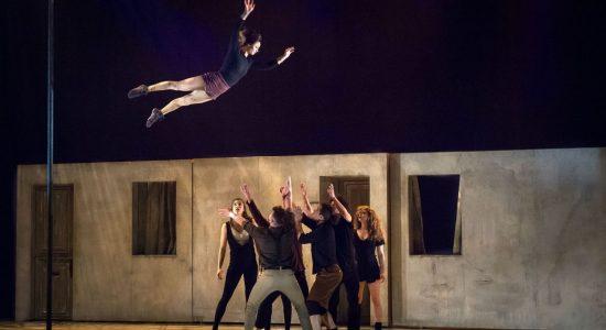 <em>Réversible</em> – poésie acrobatique - Marrie E. Bathory