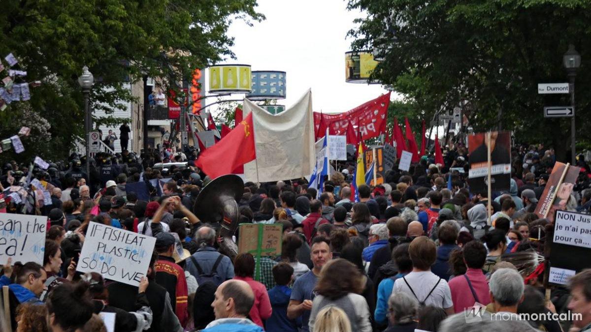 Manifestation du 7 juin contre le G7 : plus de peur que de mal | 7 juin 2018 | Article par Monmontcalm