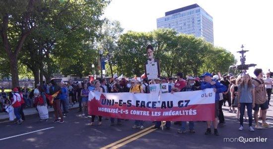 Derniers rassemblements face au G7 et aux arrestations - Monquartier