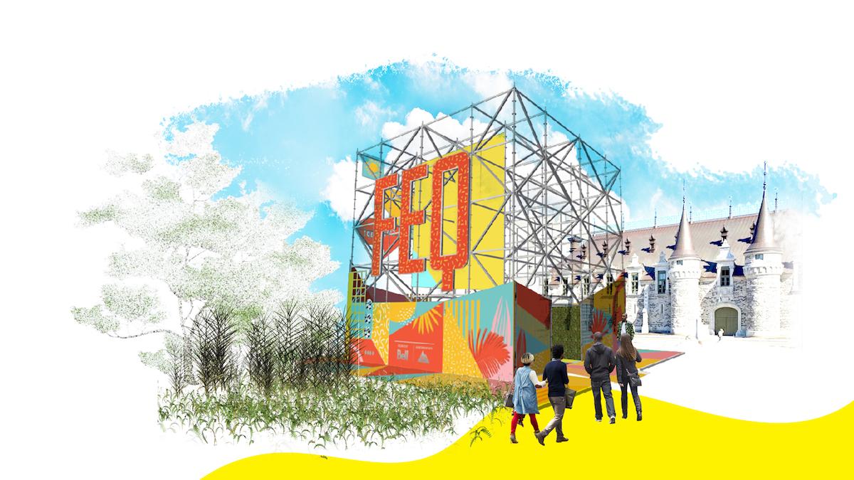 Le Festival d'été de Québec met en scène le Cube et les superhéros | 5 juin 2018 | Article par Véronique Demers