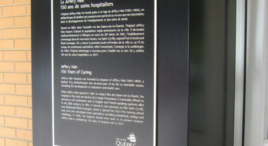Une plaque commémorative pour les 150 ans du Jeffery Hale - Suzie Genest