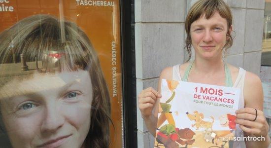 Catherine Dorion, candidate de Québec solidaire dans Taschereau - Véronique Demers