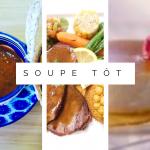 Table d'hôte Soupe Tôt - Bistro de la Goulette