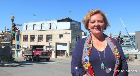 Diane Lavallée, candidate du Parti Québécois dans Taschereau - Véronique Demers