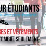 Promo pour étudiants - Coureur Nordique (Le)