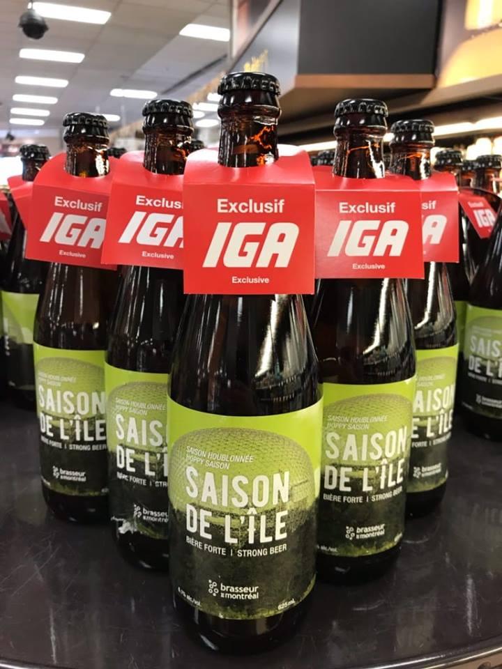 Bière saisonnière: Saison de l'île – Exclusivité IGA | IGA Deschênes