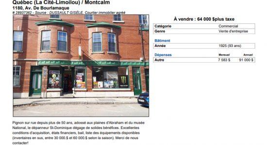 Dépanneur à vendre, exode d'immigrants français - Suzie Genest