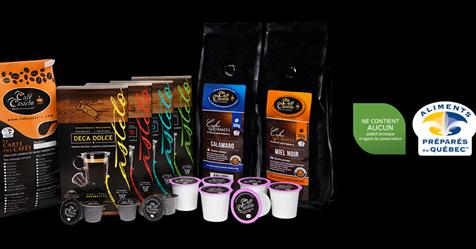 Boutique en ligne : Livraison gratuite avec 75$ et plus | Café Castelo