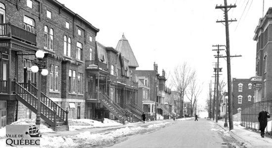Montcalm dans les années 1940 : avenue De Salaberry - Jean Cazes