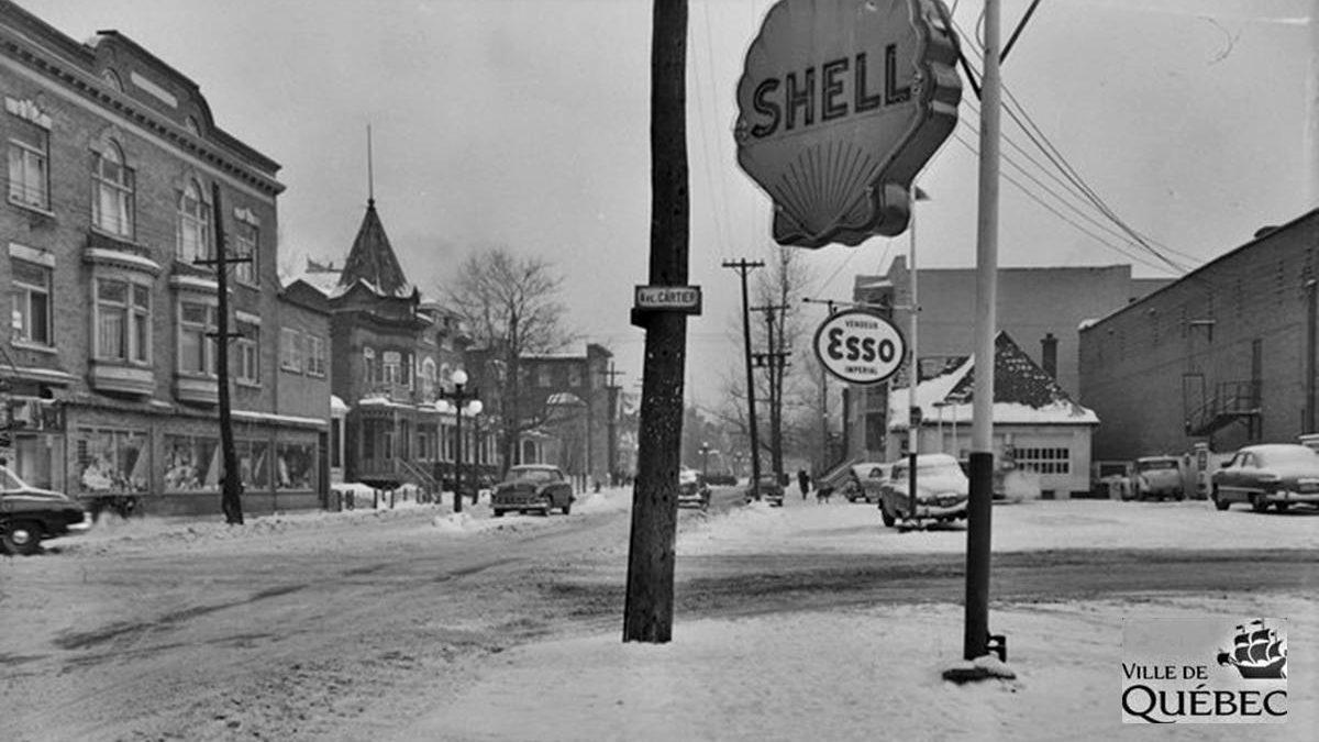 Montcalm dans les années 1950 : intersection Cartier et Saint-Cyrille   9 décembre 2018   Article par Jean Cazes