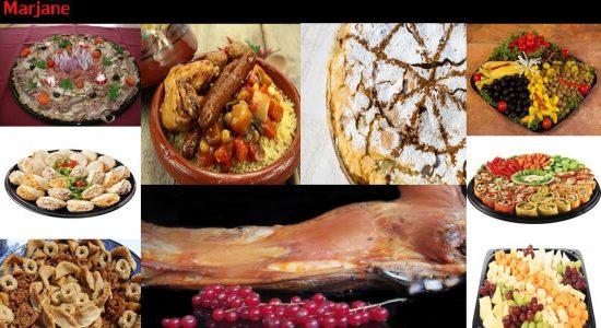 Service de traiteur et livraison pour vos réceptions des fêtes | Marjane | Boucherie – Épicerie – Traiteur