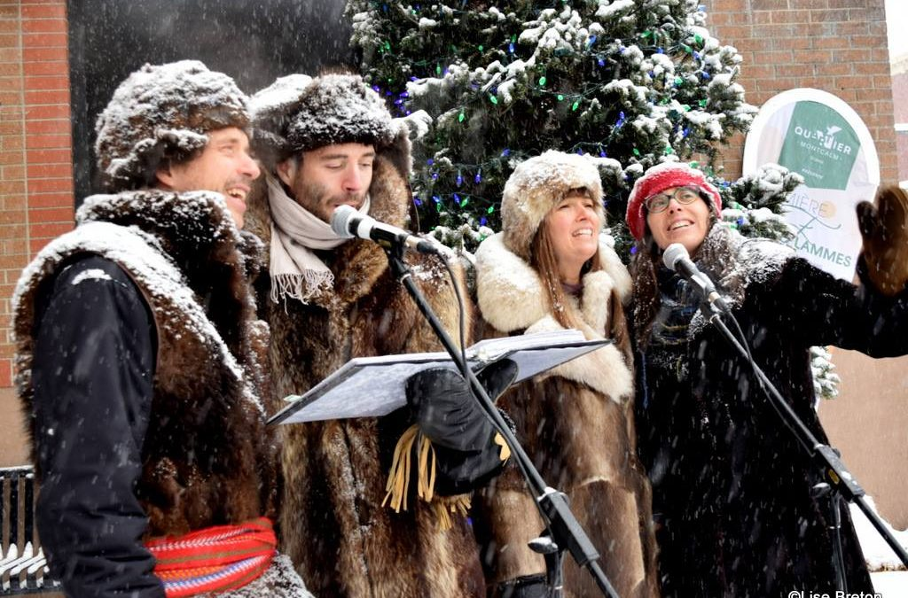 Une place éphémère pour réchauffer les sens dans Montcalm! | 17 décembre 2018 | Article par Véronique Demers