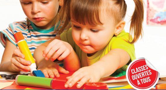 Journée Portes Ouvertes à la maternelle 3 à 5 ans