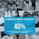 40% de rabais à l'achat d'un ensemble de ski de fond - Coureur Nordique (Le)