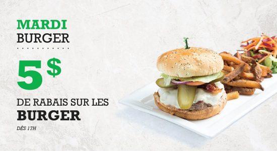 Mardi Burger | Blaxton Cartier – Restaurant Pub et Grill