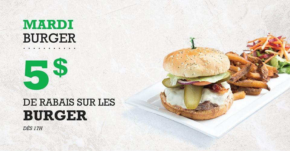 Mardi Burger   Blaxton Cartier – Restaurant Pub et Grill