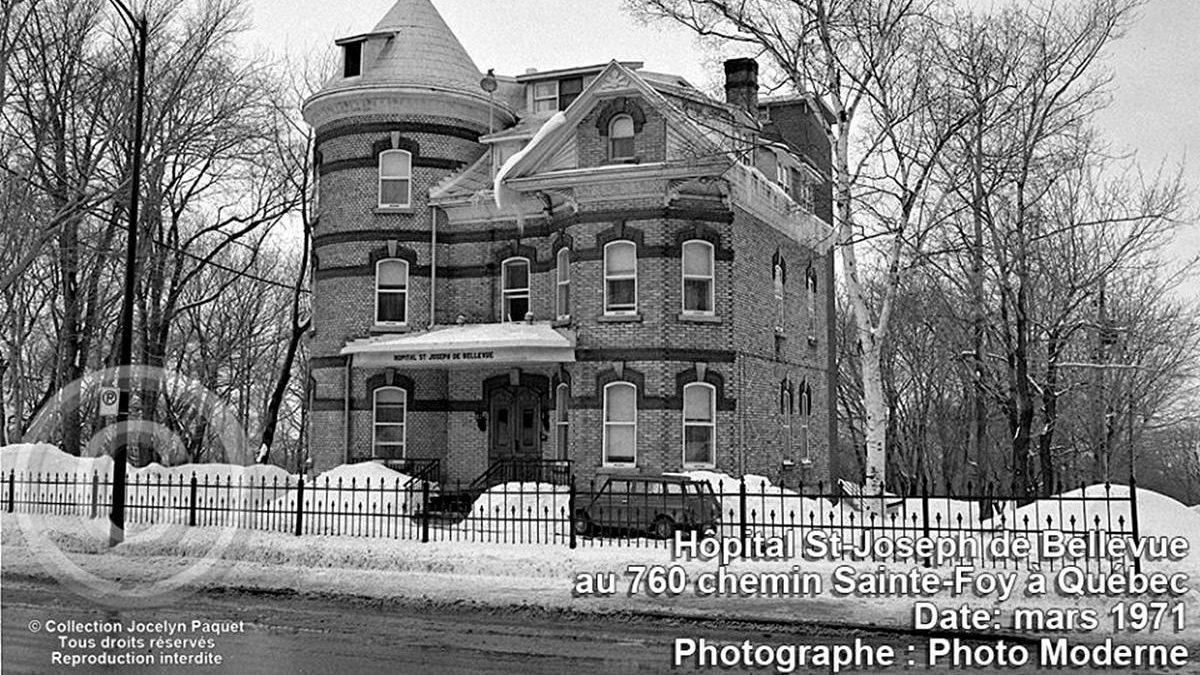 Montcalm dans les années 1970 : l'hôpital St-Joseph de Bellevue | 10 mars 2019 | Article par Jean Cazes