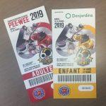 Billets gratuits   Tournoi International de Hockey Pee Wee - Desjardins - Caisse du Plateau Montcalm