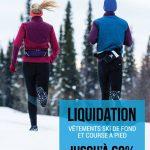 Liquidation vêtements ski de fond et course à pied - Coureur Nordique (Le)