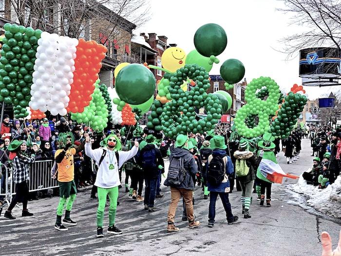 Un 10e défilé sans temps mort pour la Saint-Patrick sur Cartier | 25 mars 2019 | Article par Jason Duval
