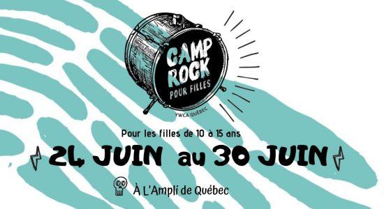 Camp Rock pour jeunes filles et jeunes non conformes de genre