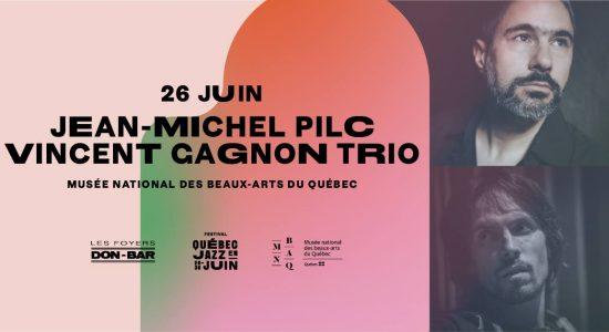 Plateau double Jean-Michel Pilc + Vincent Gagnon Trio