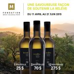 Achat de bouteilles d'huile d'olive «Les Trilles» | Fondation Mérici Collégial Privé - Mérici collégial privé