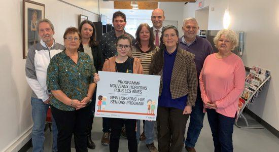 Cinq subventions pour des projets visant les aînés - Suzie Genest