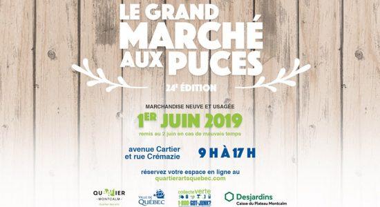 Grand Marché aux puces de Montcalm – 24ème édition!