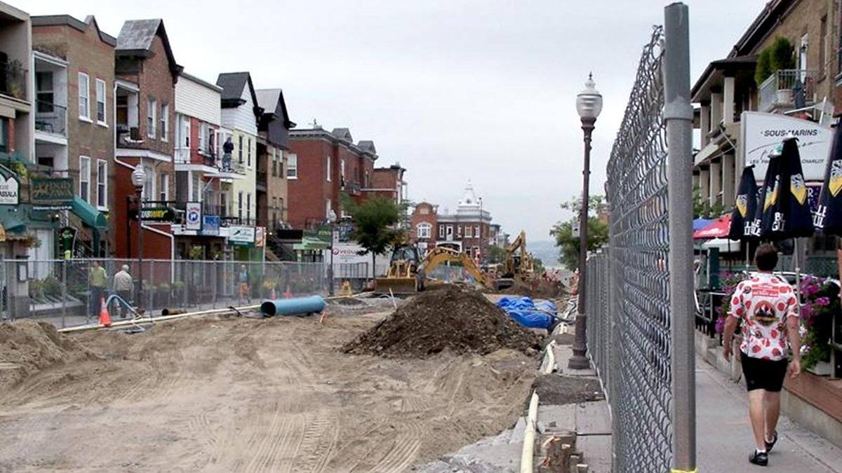 Avenue Cartier : un chantier en plusieurs temps dès le printemps | 3 mars 2020 | Article par Suzie Genest