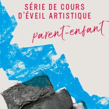 Série de cours d'arts plastiques pour enfants | Éveil artistique parent-enfant (3 à 5 ans)