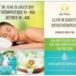 Promotion sur les massages : thérapeutique ou détente - Liliya M Gurvits Orthothérapeute